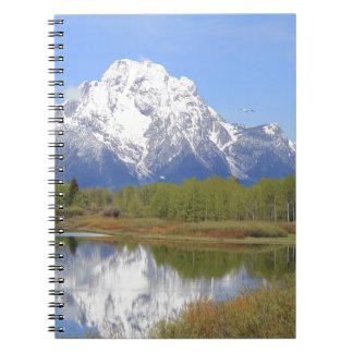 Mt. Moran Grand Teton National Park Notebooks