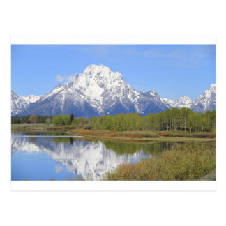 Mt. Moran Grand Teton National Park Postcard