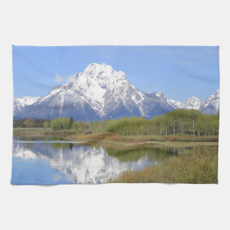 Mt. Moran Grand Teton National Park Tea Towel