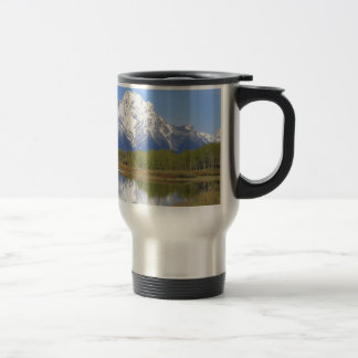 Mt. Moran Grand Teton National Park Travel Mug