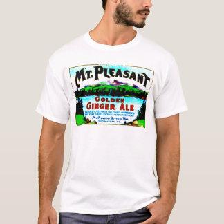 MT PLEASANT GOLDEN GINGER ALE VINTAGE ART PRINT T-Shirt