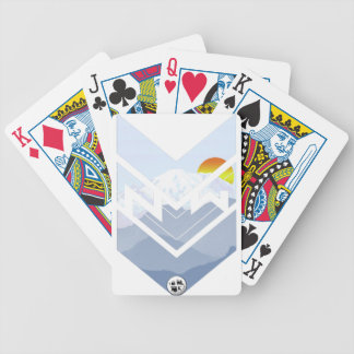 mt rainer bicycle playing cards