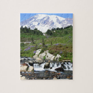 Mt Rainer, Edith Creek Jigsaw Puzzle