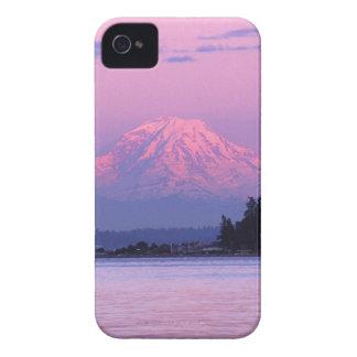 Mt. Rainier at Sunset, Washington State. iPhone 4 Case