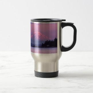 Mt. Rainier at Sunset, Washington State. Travel Mug