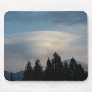 Mt. Rainier Cloud Mousepad