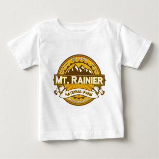 Mt. Rainier Goldenrod Baby T-Shirt