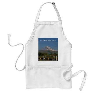 Mt. Rainier in Washington State Standard Apron