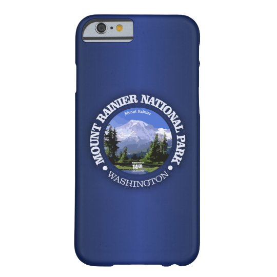 Mt Rainier NP Barely There iPhone 6 Case