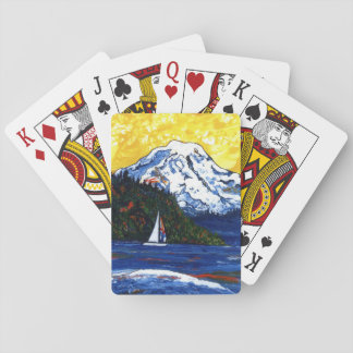 Mt Rainier Poker Deck
