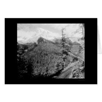 Mt. Rainier Rickseekers Point 1922 Card