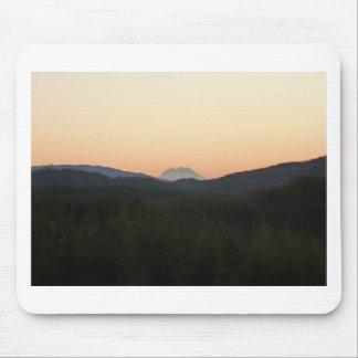 Mt. Rainier Sunrise Mousepad