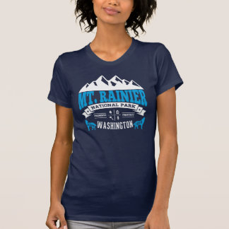 Mt. Rainier Vintage Ice T-Shirt