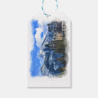 Mt Rundle and Famous Hotel, Banff, Alta, Canada Gift Tags