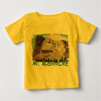 Mt. Rushmore Painted Baby Shirt