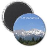 Mt. Shasta, California Refrigerator Magnet