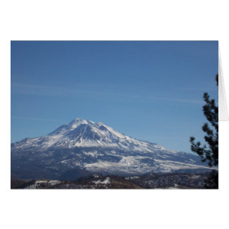 Mt Shasta Card