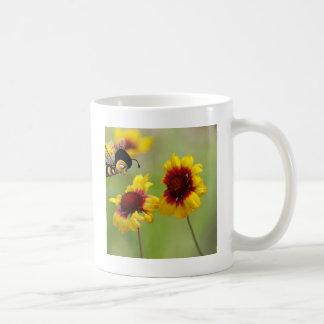 Mt. Shasta Daisies And Nonzomb Bee Mug