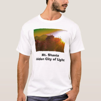 Mt. Shasta Golden City of Light T-Shirt