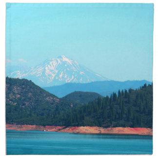Mt Shasta Napkin
