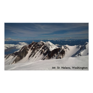 Mt. St. Helens, Washington Poster