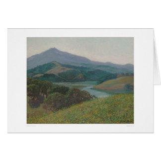 Mt. Tamalpais from Corte Madera Creek (1153) Greeting Card