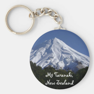 Mt Taranaki Key Ring