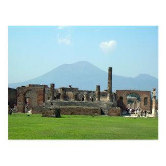 Mt. Vesuvius Postcard