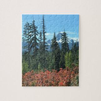 Mt. Washington in Autumn Jigsaw Puzzle