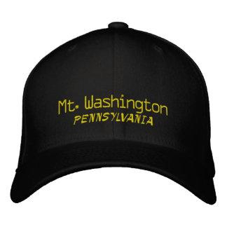 Mt. Washington Pennsylvania Embroidered Hat