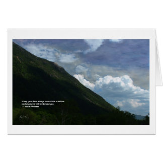 Mt Webster: whitman Quote Card