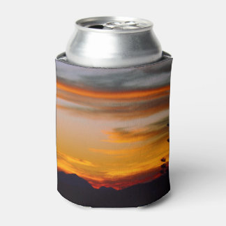 Mt Wheeler sunset can cooler