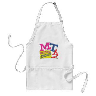 MT WHIMSICAL FUN ACRONYM LETTERS LABORATORY ADULT APRON