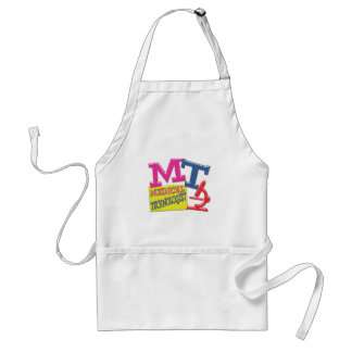 MT WHIMSICAL FUN ACRONYM LETTERS LABORATORY STANDARD APRON