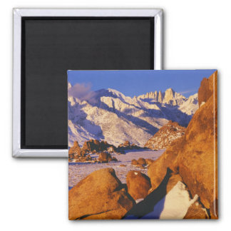 Mt. Whitney and Lone Pine peak Magnet