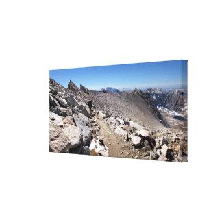 Mt Whitney needles Traverse - John Muir Trail Canvas Print