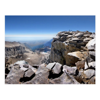 Mt Whitney Summit - John Muir Trail Postcard