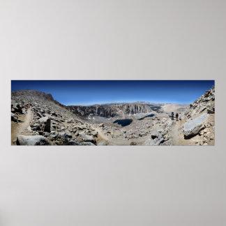 Mt Whitney Trail - John Muir Trail Poster