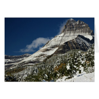 Mt. Wilbur At Glacier National Park Card