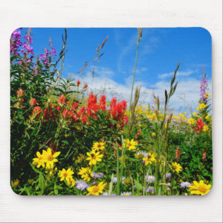 Mt. Wildflowers Mouse Pads