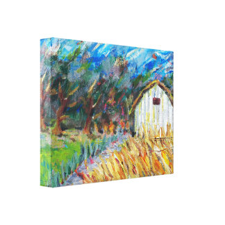 Mt. Zion Barn Canvas Print
