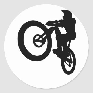 MTB Jump Classic Round Sticker