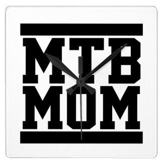 MTB Mom Wall Clocks