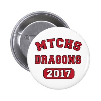 MTCHS Class of 2017 Proud 6 Cm Round Badge