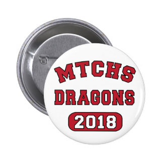 MTCHS Class of 2018 6 Cm Round Badge