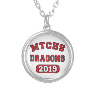 MTCHS Class of 2019 Swag Round Pendant Necklace