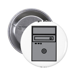 MTCHS COMPUTER 6 CM ROUND BADGE