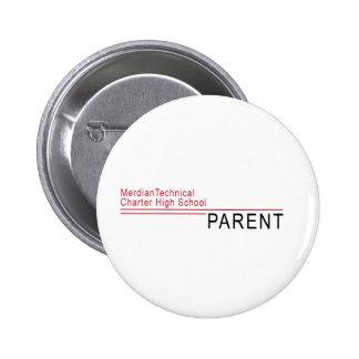 MTCHS Proud Parent Official Look 6 Cm Round Badge