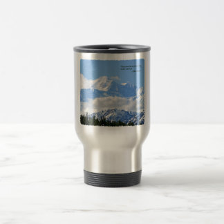 Mtns are calling / Mt McKinley Travel Mug