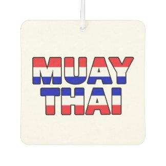 Muay Thai Car Air Freshener